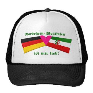 I Love Nordrhein-Westfalen ist mir lieb Trucker Hats