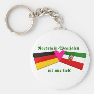 I Love Nordrhein-Westfalen ist mir lieb Keychain