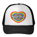 I love Norma. I love you Norma. Heart Cap