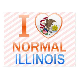 I Love Normal, IL Postcard
