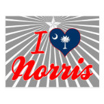 I Love Norris, South Carolina Post Cards