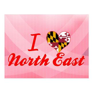 I Love North East, Maryland Postcard