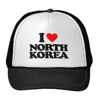 I LOVE NORTH KOREA CAP