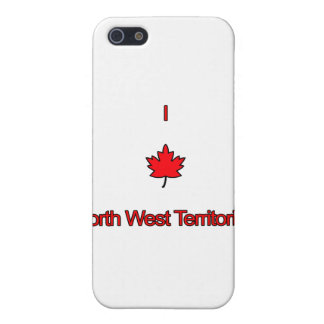 I Love North West Territories iPhone 5 Cover