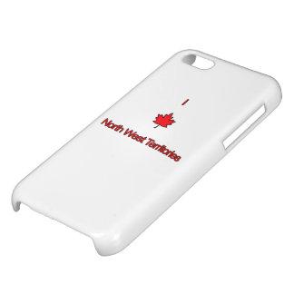I Love North West Territories iPhone 5C Cases