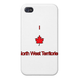 I Love North West Territories iPhone 4/4S Case