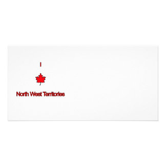 I Love North West Territories Photo Cards