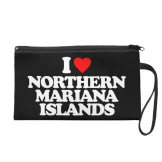 I LOVE NORTHERN MARIANA ISLANDS WRISTLET