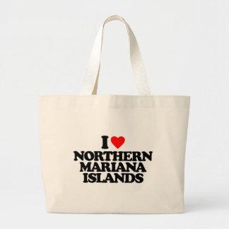 I LOVE NORTHERN MARIANA ISLANDS BAGS