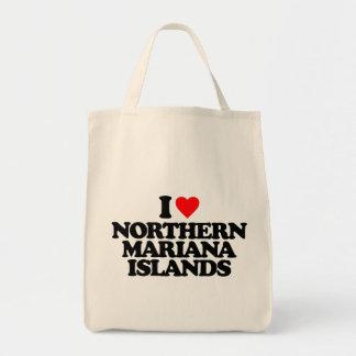 I LOVE NORTHERN MARIANA ISLANDS BAG