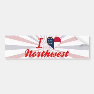 I Love Northwest, North Carolina Bumper Sticker