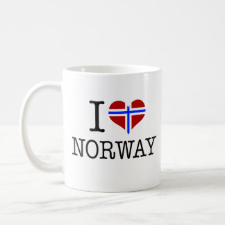 I love Norway Coffee Mug
