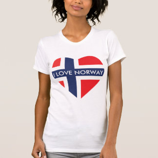 I LOVE NORWAY HEART T-Shirt