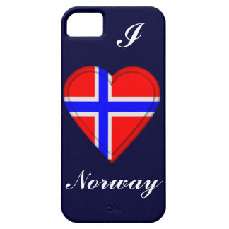 I love Norway iPhone 5 Case