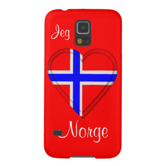 I love Norway Jeg elsker Norge Galaxy S5 Covers