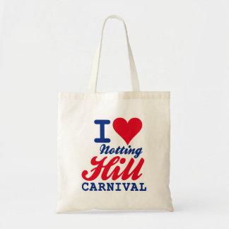 I LOVE NOTTING HILL CARNIVAL BOLSAS LIENZO