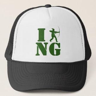 I Love Nottinghamshire Trucker Hat