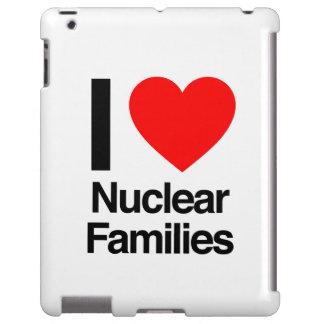 i love nuclear families iPad case