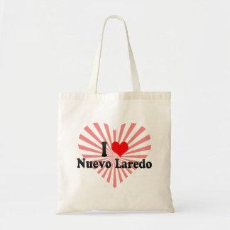 I Love Nuevo Laredo Mexico Tote Bag