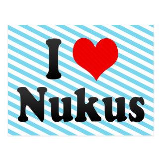 I Love Nukus, Uzbekistan Postcard