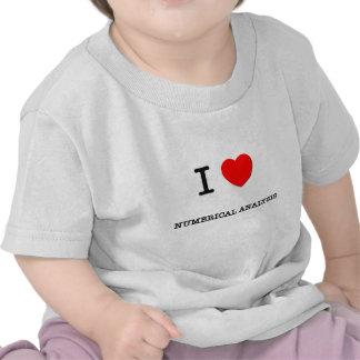 I Love NUMERICAL ANALYSIS T-shirt