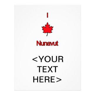 I Love Nunavut 21.5 Cm X 28 Cm Flyer