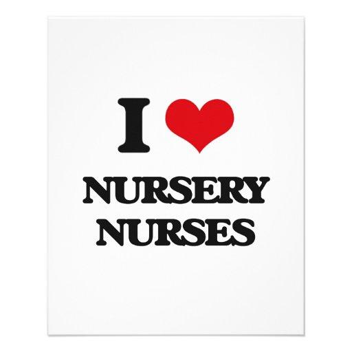 I love Nursery Nurses Full Color Flyer