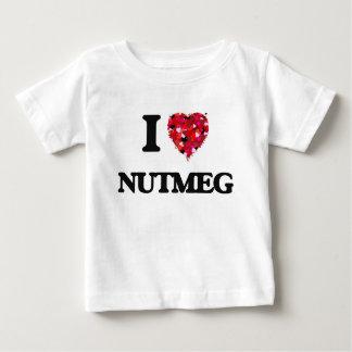 I Love Nutmeg Tshirts
