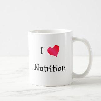 I Love Nutrition Coffee Mug