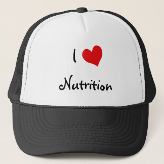 I Love Nutrition Trucker Hat