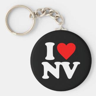 I LOVE NV KEY RING