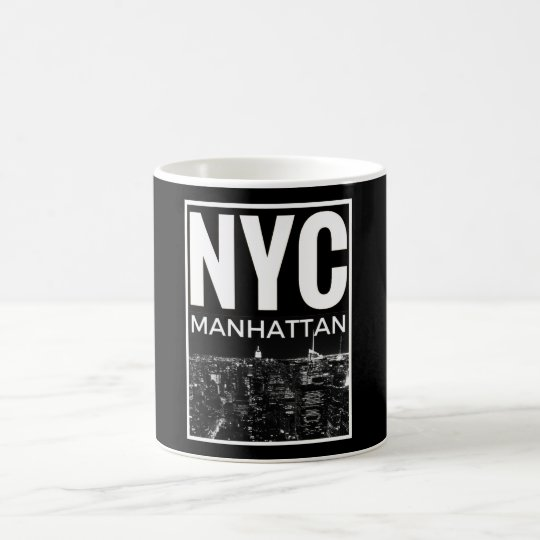 I Love NYC New York Manhattan skyline Coffee