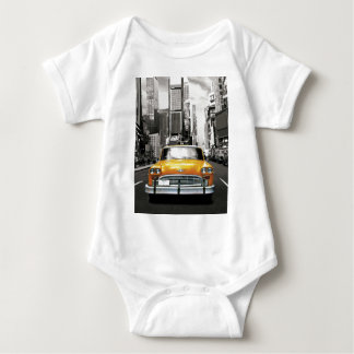 I Love NYC - New York Taxi Baby Bodysuit