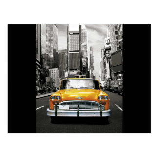 I Love NYC - New York Taxi Postcard