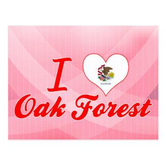 I Love Oak Forest, Illinois Postcard