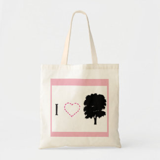 I love oak tote bag