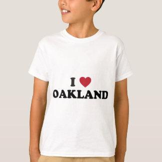 I Love Oakland California T-shirt