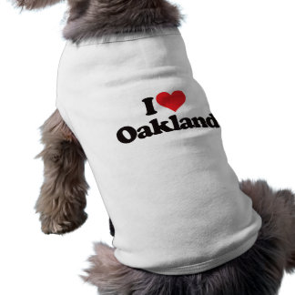 I Love Oakland Shirt