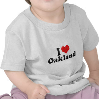 I Love Oakland Tshirt