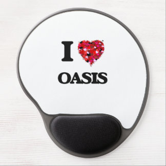I Love Oasis Gel Mouse Pad