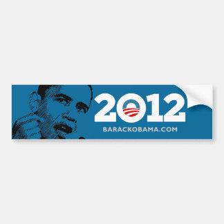 I Love Obama 2012 Car Bumper Sticker
