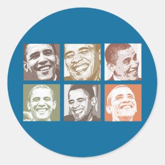 I Love Obama 2012 Stickers