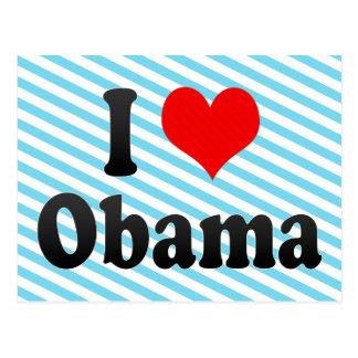 I Love Obama Japan Postcard