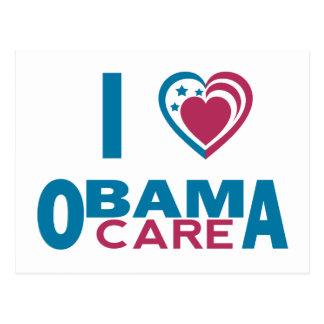 I Love ObamaCare Postcard