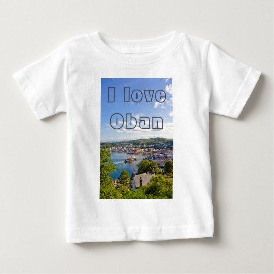 I love Oban, customisable t shirt