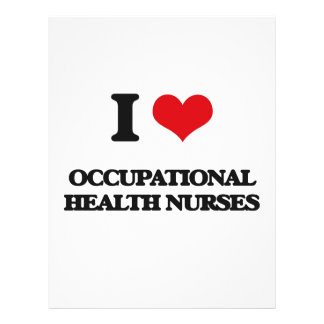 I love Occupational Health Nurses Personalized Flyer