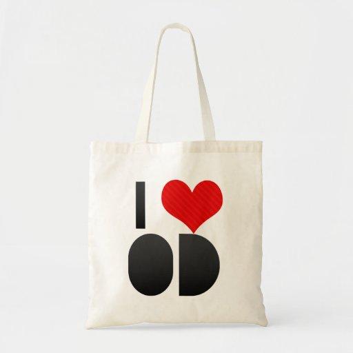 I Love OD Tote Bag
