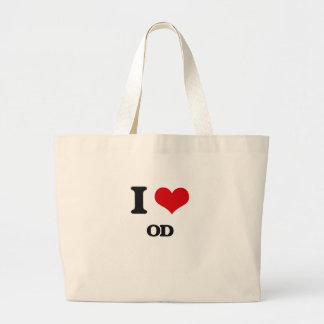 I Love Od Canvas Bags