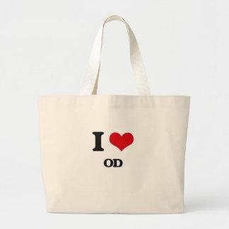 I Love Od Canvas Bags