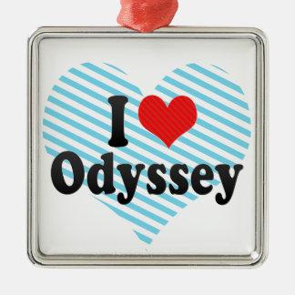 I Love Odyssey Christmas Ornament